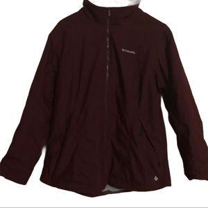 Columbia  Front Zip Jacket